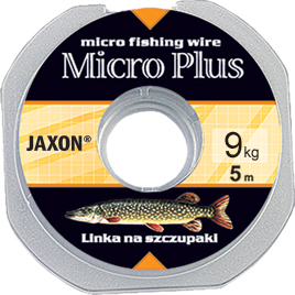 Jaxon Micro Plus harapásálló acél előke 5m 13kg